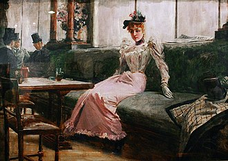 Juan Luna - Image: The Parisian Life by Juan Luna