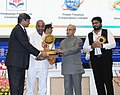 The President, Shri Pranab Mukherjee presented the SCOPE Awards to CPSEs, on the occasion of the Public Sector Day, in New Delhi (1).jpg