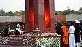 The Prime Minister, Shri Narendra Modi lighting the eternal flame, to mark the dedication of the National War Memorial, in New Delhi on February 25, 2019 (1).JPG