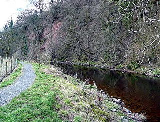 River Ayr Way Long-distance path in southern Scotland