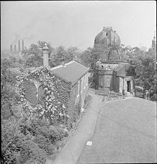 The Royal Observatory- Everyday Life at the Royal Observatory, Greenwich, London, England, UK, 1945 D24700.jpg