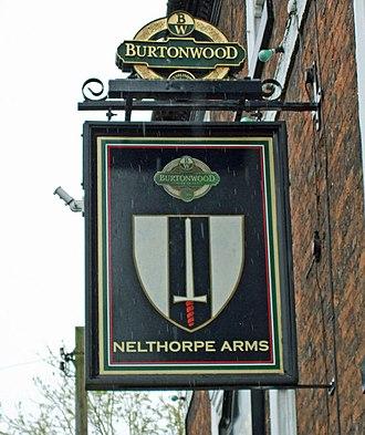 Brigg - The Sign of the Nelthorpe Arms, Bridge Street