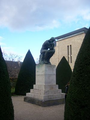 Rodin's The Thinker at the Musée Rodin.