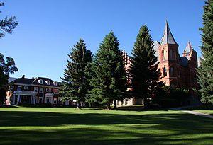 University of Montana Western - Image: The University of Montana Western campus