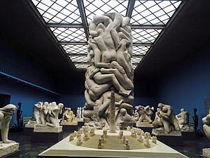 Vigeland Museum - One of the exhibition halls in the Vigeland Museum.