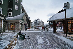 the Village at Snowshoe Mountain