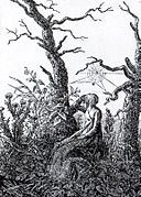 The Woman with the Cobweb by Caspar David Friedrich.jpg