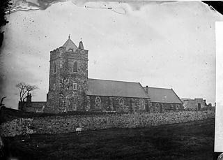 The church, Llannerch-y-medd