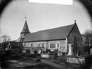 The church, Llansantffraid-ym-Mechain