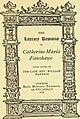 The literary remains of Catherine Maria Fanshawe; (1876) (14587012898).jpg