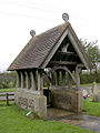 The lych gate at Christ Church, Colbury, New Forest - geograph.org.uk - 70485.jpg