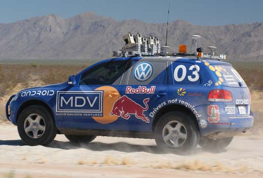 File:The winner, 2005 DARPA Grand Challenge -Stanford's Stanley.tiff