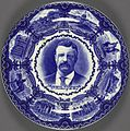 Theodore Roosevelt Portrait Plate, ca. 1901 (4360110210).jpg