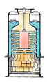 Thimble tube boiler (BR77 Machinery Handbook).png