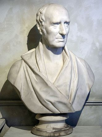 William Murdoch - Marble Bust of Murdock by E. G. Papworth