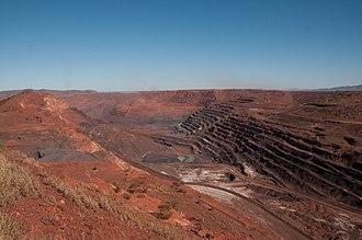 Iron ore mining australia mapa