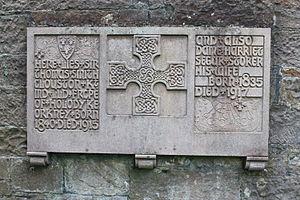 Thomas Clouston - Thomas Clouston's grave, Dean Cemetery