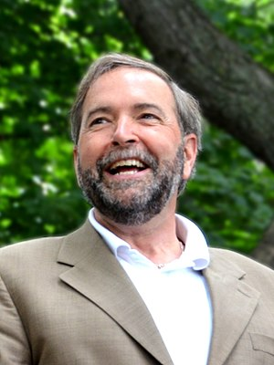 New Democratic Party leadership election, 2012 - Image: Thomas Mulcair, Lac des Castors, juin 2012