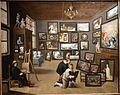 Thomas van Opshoven after David Teniers - An Artist in his Gallery 20170119 144629.jpg