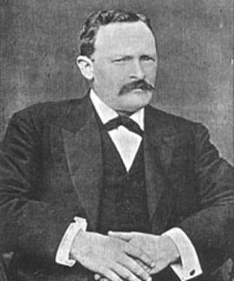 Thomas Horrocks Openshaw - Openshaw in about 1902