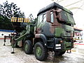 Thunderbolt 2000 MLRS Display at CKS Memorial Hall Entrance 20140607.jpg