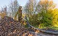 Tijdelijke pijpleidingbrug over de Tramwei in Broek bij Joure 01.jpg