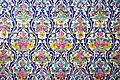 Tiles on the walls of Shah Nematollah Vali Shrine 01.JPG