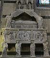 Tino di camaino, monumento al cardinale Riccardo Petroni, 1314 circa, 02.JPG