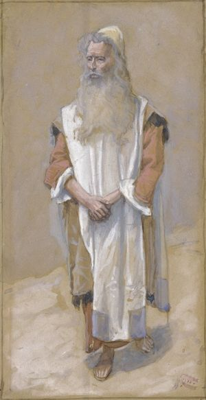 Va'eira - Moses (watercolor circa 1896–1902 by James Tissot)