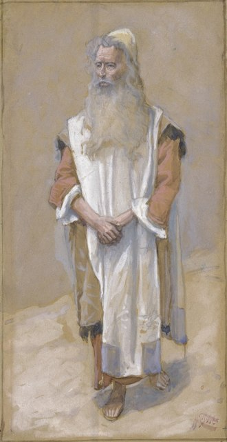 James Tissot - Moses, watercolor circa 1896–1902