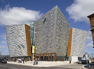 Titanic Belfast side view