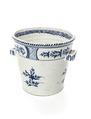 Toalettspann av fajans med blå underglasyrmålning, 1754 - Skoklosters slott - 108395.tif