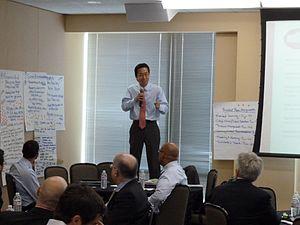 Todd Park - Todd Park leading Education Data Jam