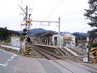Torii Station (Aichi) Railway station in Shinshiro, Aichi Prefecture, Japan