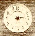 Torre Civica di Montefiore dell'Aso, particolare del quadrante dell'orologio.jpg