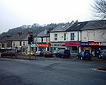 Totley Rise row of shops on Baslow Road