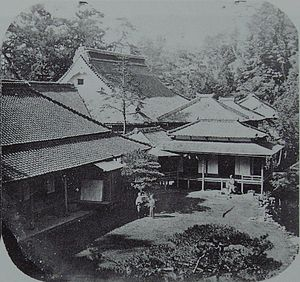 Rutherford Alcock - Rutherford Alcock located the British legation in Tokyo from 1859 in Tōzen-ji.