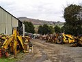 Tractor scrapyard - Bickaton, South Devon - geograph.org.uk - 135712.jpg