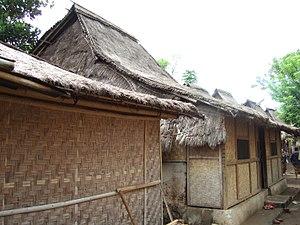 Traditional Sasak Village Sade houses