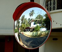 Traffic Mirror at Curve.JPG