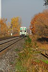 Trainspotting GO train -918 headed by MPI MP40PH-3C -609 (8123466020).jpg