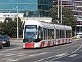 Tram 503 at Viru Square in Tallinn 25 August 2015.JPG
