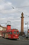 Tram and lighthouse - geograph.org.uk - 1584580.jpg