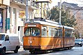 Tram in Sofia near Central mineral bath 2012 PD 001.jpg
