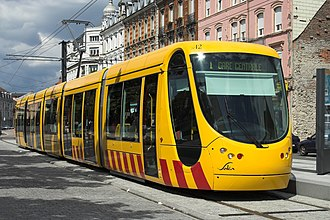 Mulhouse tramway - Mulhouse Alstom Citadis 302 tram