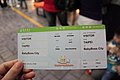 TransAsia Airways boarding pass at BabyBoss City 20121010.jpg