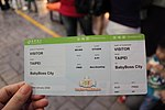 TransAsia Airways boarding pass at BabyBoss City 20121010.jpg