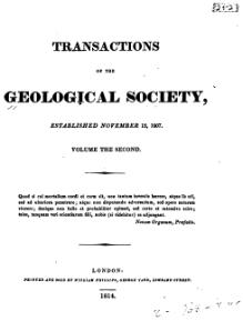 Transactions of the Geological Society, 1st series, vol. 2.djvu