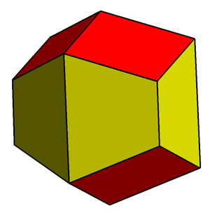 Trapezo-rhombic dodecahedron - Trapezo-rhombic dodecahedron