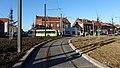 Travaux de la branche vers Vieux-Condé de la ligne B du tramway de Valenciennes en décembre 2013 (265).JPG